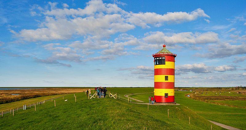 Leuchtturm Pilsum in Ostfriesland
