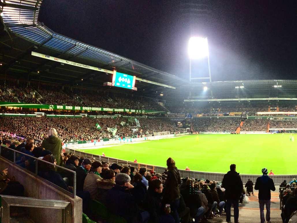 Weser Stadion in Bremen