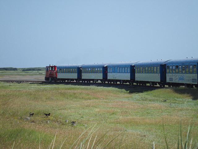 Inselbahn von Wangerooge