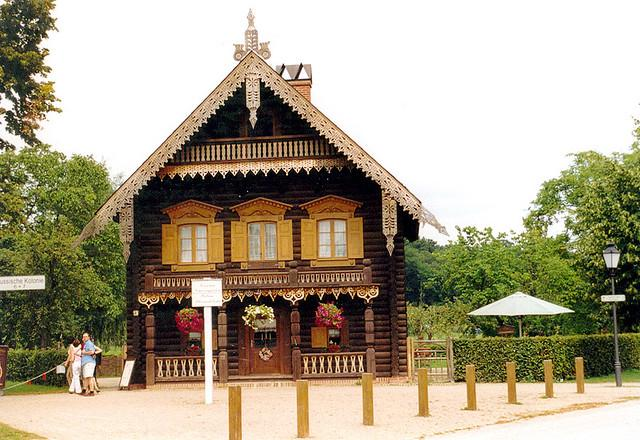 Haus in der russischen Kolonie Alexandrowka