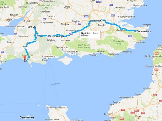 Google Maps Route