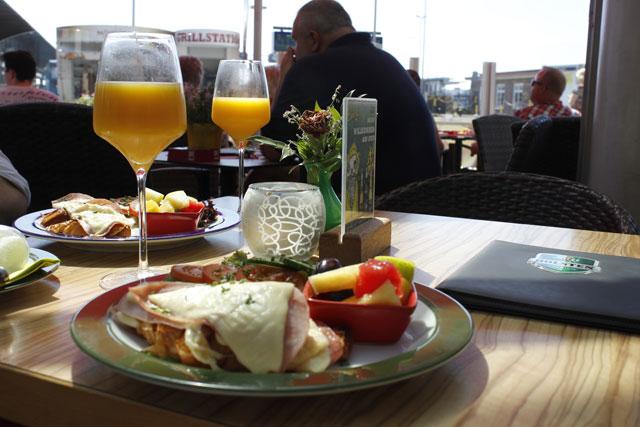 Frühstücks Menü