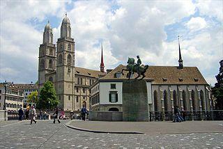 Das Großmünster in Zürich