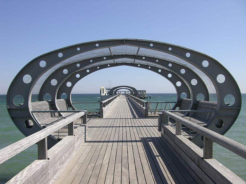 Seebrücke von Kellenhusen
