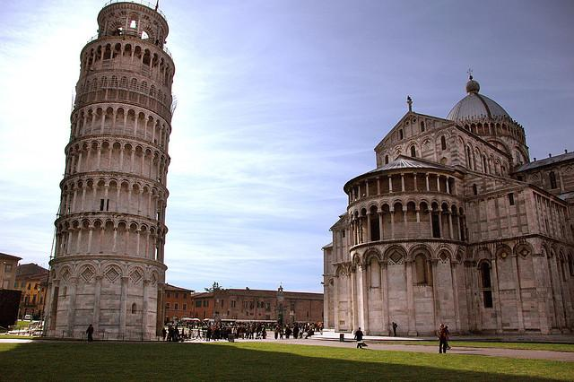Tuscany Leaning Tower of Pisa