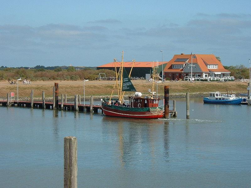 Hafen von Langeoog