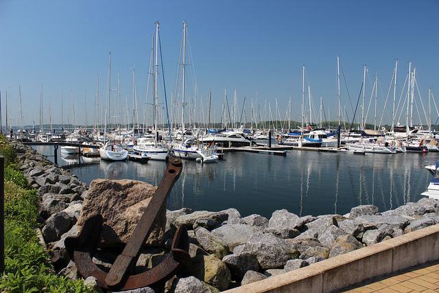 Am Hafen von Laboe