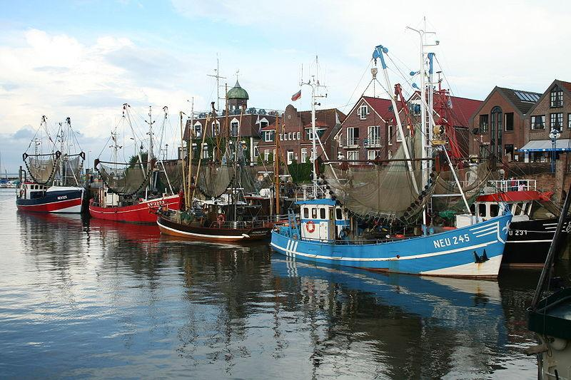 Kutter in Neuharlingersiel