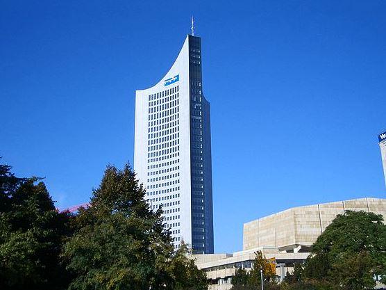 Das City-Hochhaus Leipzig