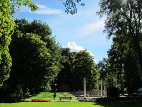 Amphitheater im Michael-Ende Kurpark