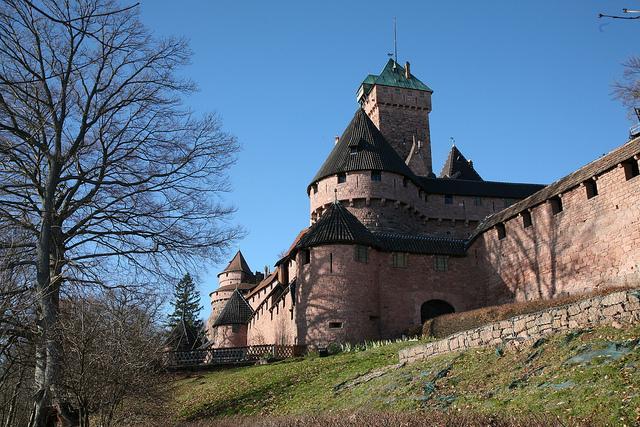Alsace Hohkönigsburg Castle