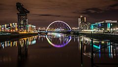 Clyde Arc in Glasgow