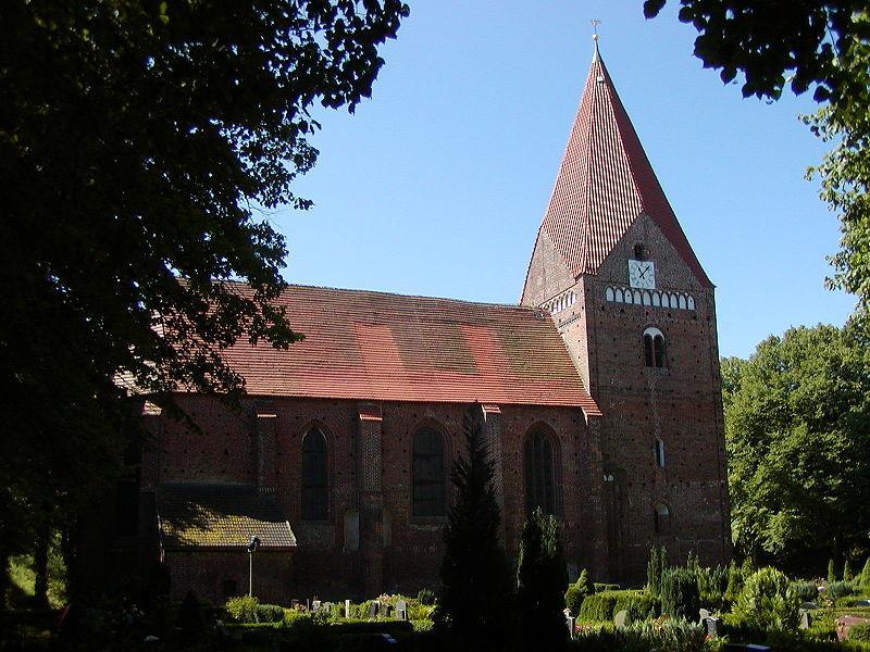 Inselkirche auf der Insel Poel