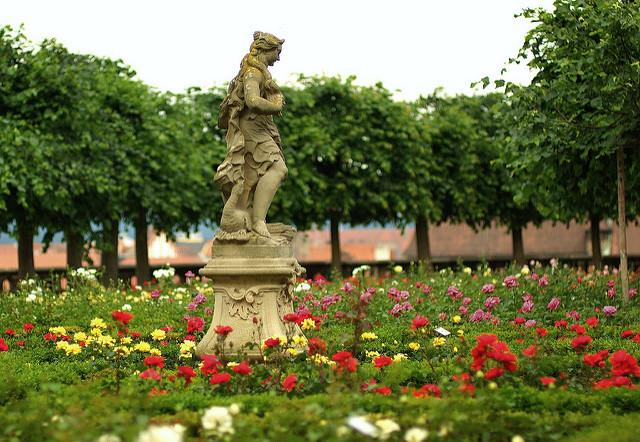 Rosengarten der Residenz