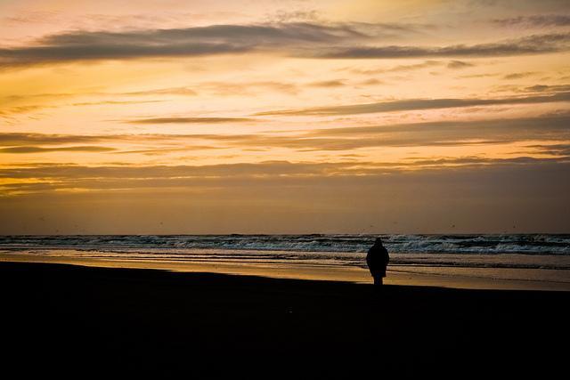 Spaziergang am Strand von Juist