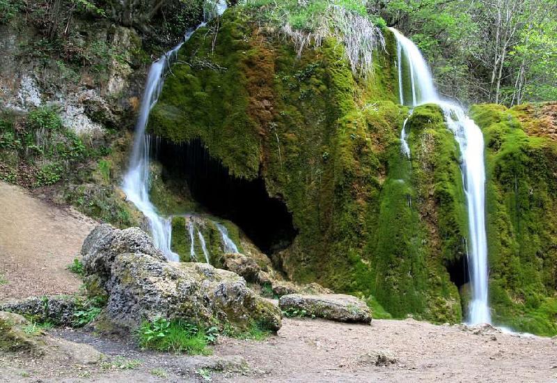 Wasserfall von Dreimühlen