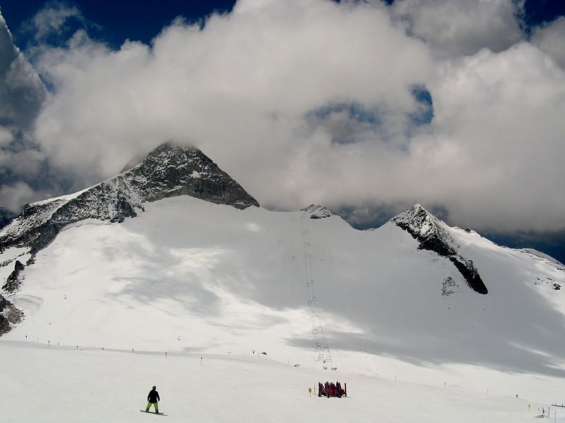 Hintertuxer Gletscher in Tirol