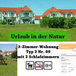 Ferienresidenz am Nationalpark, 3-Zimmer-Fewo Nr. 9 - Gingst