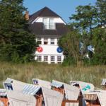 Strandvilla Silberner Fisch - Möwe - Binz