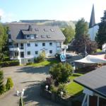 Blick vom Balkon zum Ettelsberg