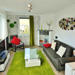 Fewo PenthausBlick**** - Wohnzimmer mit Homecinema