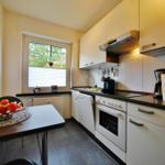 Separate Küche mit Top-Ausstattung