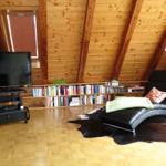 42° Smart-TV, Bluray-Player mit Filmauswahl und Wii-Spielekonsole