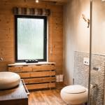 Harzchalet - Badezimmer