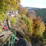 Ausflugslokal Rabenklippe mit Luchsgehege (Hausberg von Bad Harzburg)