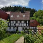 Ferienhaus Sylvia Bothe Gartenansicht