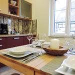 Küchenecke mit Essbereich