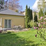 Terrasse im Frühling