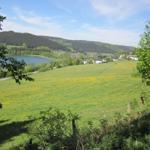 Blick auf den Niedersfelder Hillebachsee