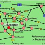 Anfahrt nach Trautenstein, bitte beachten bei Routenplaner unsere Straße wurde umbenannt in Albert-Schneider-Straße 3, früher Bergstraße 3.