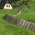Mountainbike-Trail an der Matthias-Schmidt-Höhe