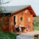 Ferienhaus Sonnenhof - Holzhaus mit Südterrasse - Uckerland