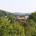 Ausblick zum Zisterzienserkloster