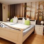 Ein weiteres Schlafzimmer im OG bietet auch die Möglichkeit Fern zu sehen.