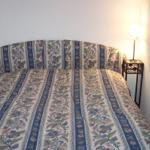 Schlafplatz mit Doppelbett
