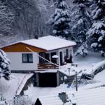 Bei einer Höhenlage von  400 m ü. NN liegt im Frühjahr meistens Schnee.