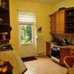 Küche - Eingang vom Garten