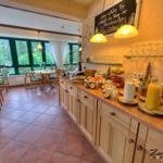 ...Blick in unseren Panorama-Frühstücksraum...