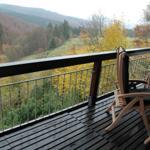 Blickvom Balkon