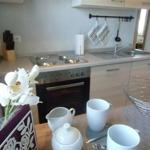 Küche mit Spülmaschine/Microwelle