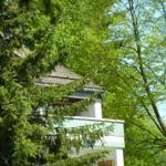 Blick von der Paulsbergwiese auf die Wohnung