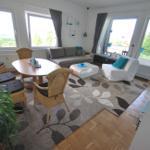 Wohnzimmer Wohnung Talblick