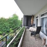 Balkon Wohnung Abendsonne