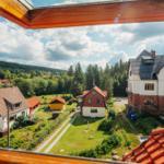 Aussicht in die Harzer Bergwelt
