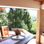 Überdacht Terrasse ... zum Verweilen, Grillen, ...