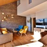 Fewo Blume - Wohnzimmer mit chic